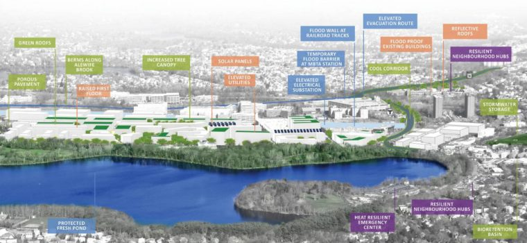Cambridge-Alewife Climate Action Planning Map