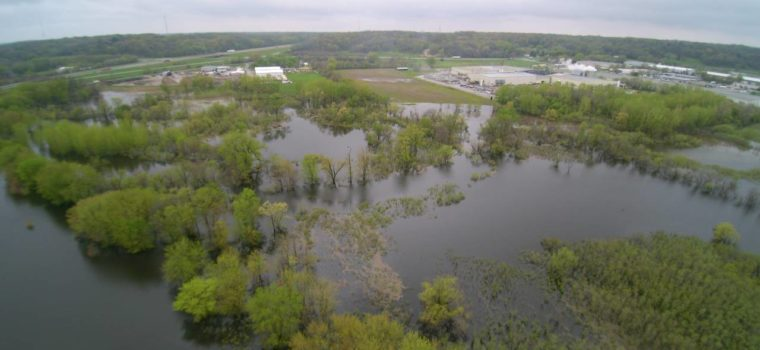 Nahant Marsh provides buffer against riverine flooding.