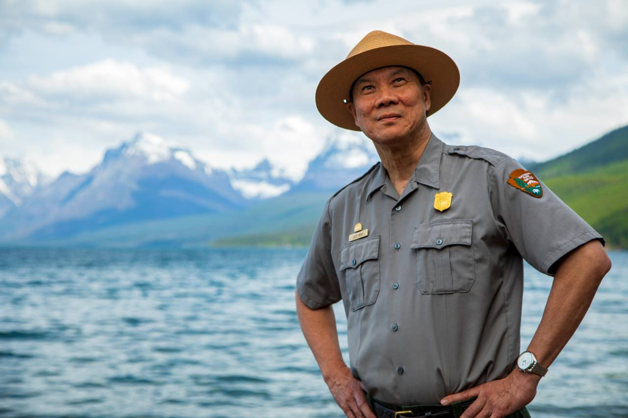 Glacier National Park Superintendent Jeff Mow.